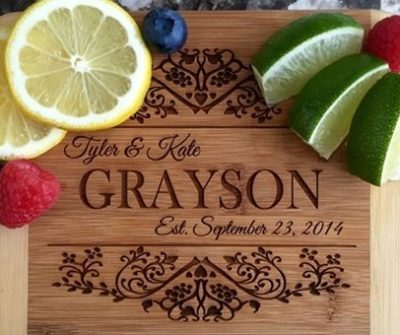 Personalized Cutting Board for $9.99 + More Deals