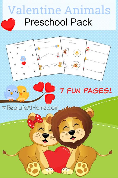 Preschool Valentine Printable Pack