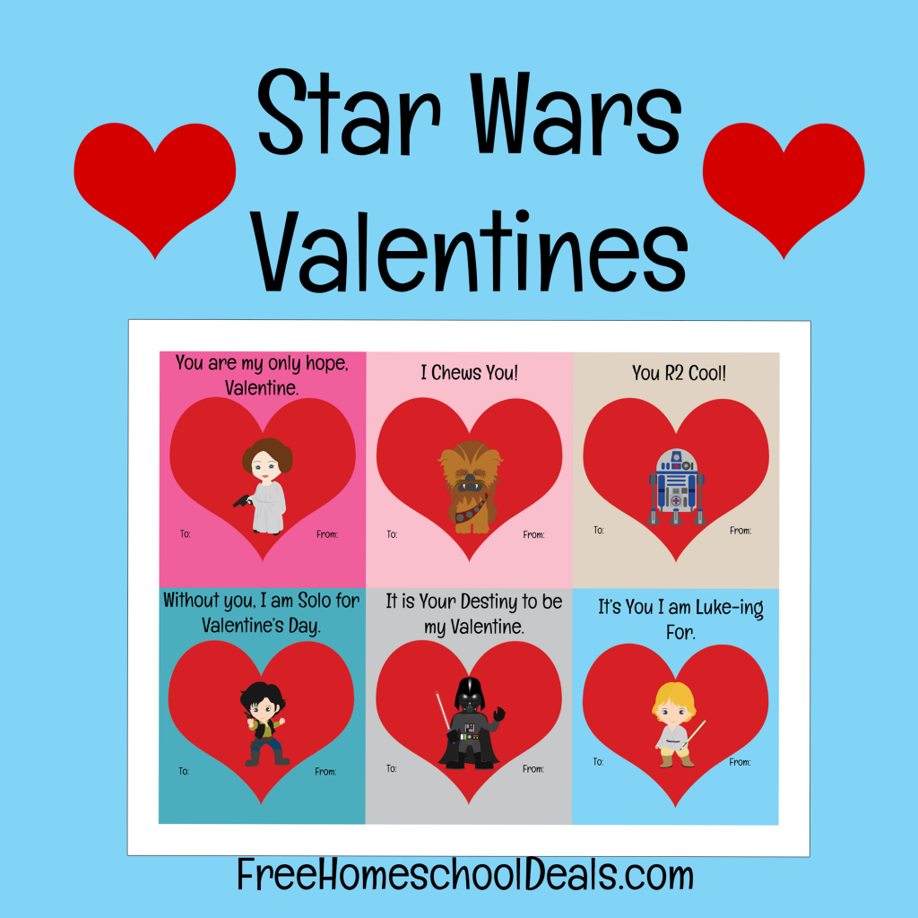image relating to Printable Star Wars Valentine called Cost-free Star Wars Printable Valentines - Youngsters Actions