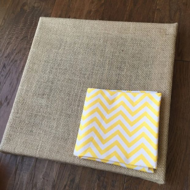 How to Make Burlap Wall Art with Your Kids (2)