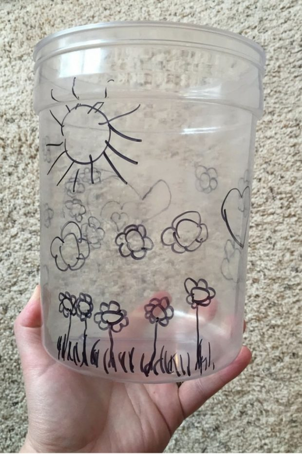 How to Make 3D Artwork Your Kids Will Carry All Summer - step by step