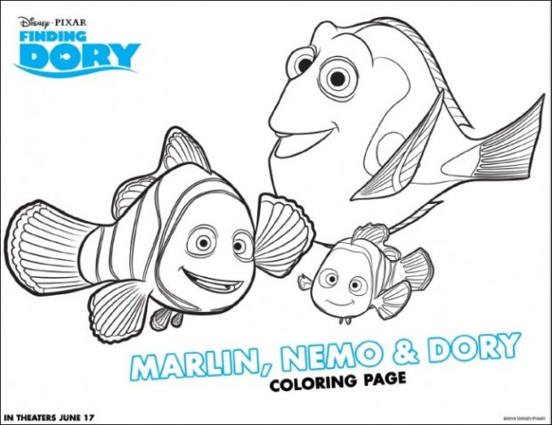 FREE Finding Dory Activity Sheets - Kids Activities | Saving