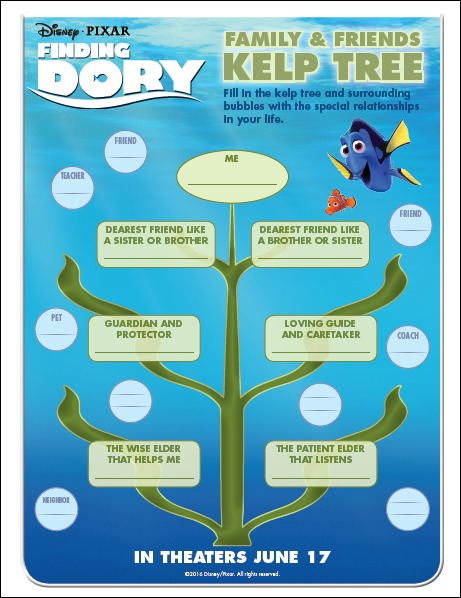Finding Dory Kelp Tree