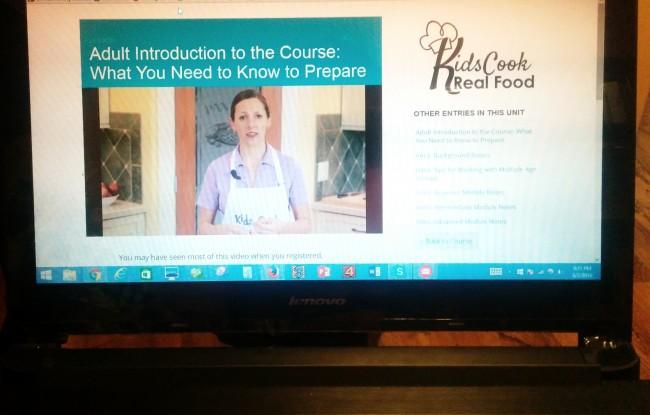 Kids Cook Real Food curriculum sale