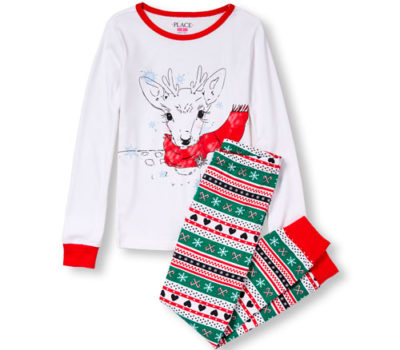 The Children's Place:  Christmas PJs for 1/2 Price + FREE Shipping