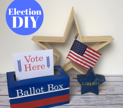 From Kleenex Box to Ballot Box:  Election DIY