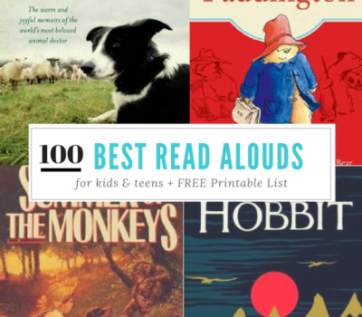 100 Books to Read Aloud Before Your Child Graduates + FREE Printable Checklist