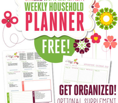 FREE!!!!  The Confident Mom Chore Planner