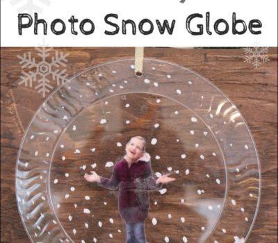How to Make a Crafty Photo Snow Globe