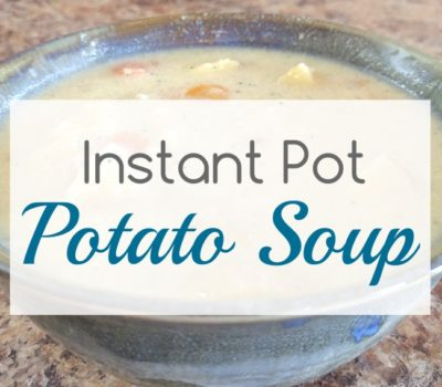 Easy Instant Pot Potato Soup Recipe