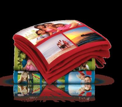 Custom 40×60 Photo Collage Fleece Blanket for $15 Shipped (reg. $59.99)