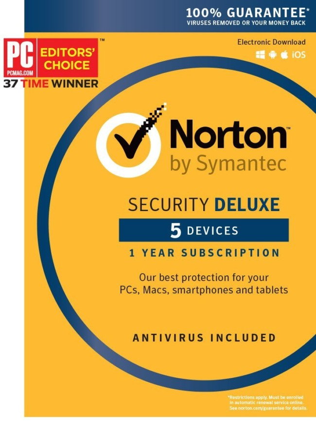 Norton Security Premium - 10 Devices - Amazon Exclusive 15 Month Subscription - Digital Download [PC/Mac Online Code] Nov 1,