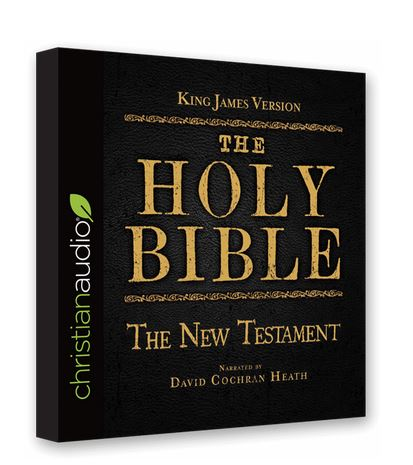 FREE Audiobook: KJV Bible (New Testament) - Kids Activities | Saving