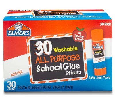 Elmer's Glue Sticks (30 Ct) for $7.13