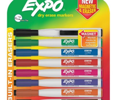 Prime Day Deal: Expo Dry Erase Markers (Magnetic & Eraser)