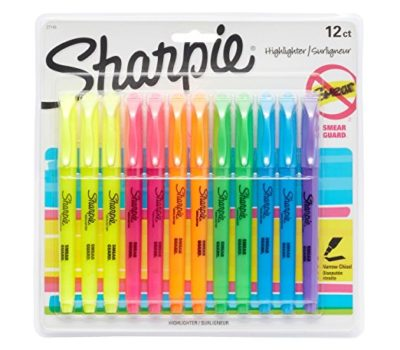 Sharpie Highlighters (12 Pack) for $4.97 – Add-on Item