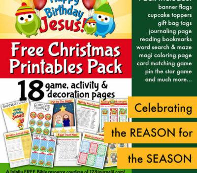 FREE Christmas Printables Pack