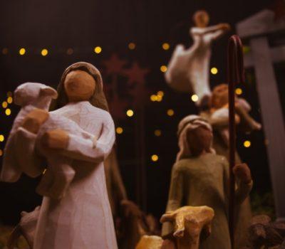 Nativity Character Bible Verse Activity