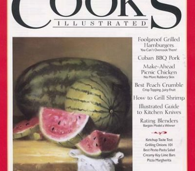 Rare Deal: Cook's Illustrated Magazine