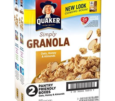 Quaker Simply Granola (TWO 28 oz Boxes)