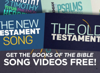 FREE Books of the Bible Songs
