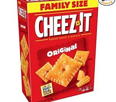 Cheez It Crackers Deal (Family Size Boxes)