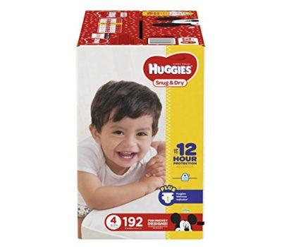 Huggies Snug & Dry (Size 4) As Low As $0.12 Per Diaper!