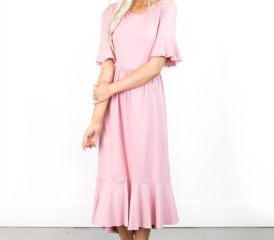Ruffle Hem Dresses for 35% Off + FREE Shipping (5/14 ONLY)