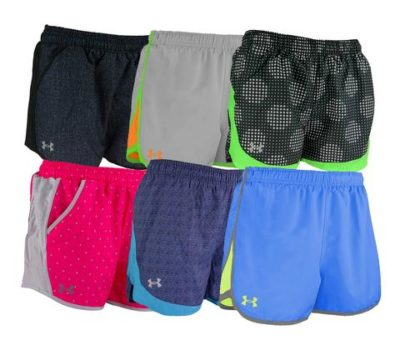 Under Armour Women's Running Shorts Mystery Pack (3 Pair)