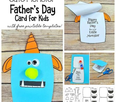 Four FREE Printable Father's Day Cards