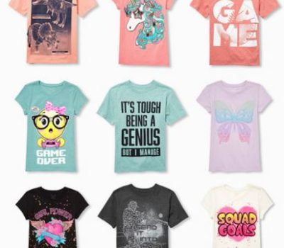 The Children's Place: $10 Off a $40+ Purchase (Text Offer) + FREE Shipping + 70% Off Clearance