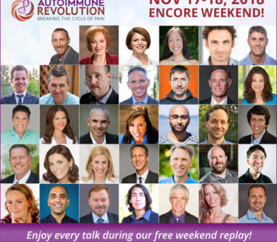 Autoimmune Revolution: FREE Encore Weekend (Today and Tomorrow)
