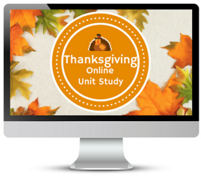 FREE Online Thanksgiving Unit Study