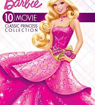 Barbie 10 Movie Classic Princess Collection DVD – Lowest Price