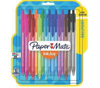 Paper-Mate InkJoy Retractable Gel Pens – Under $5 (Add-On Item)